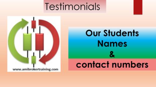 Amibrokertraining testimonials 1