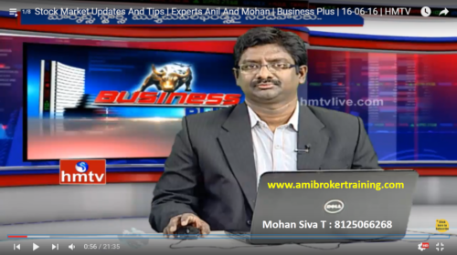 Mohan Siva Hmtv Business Plus Live 16 June 2016