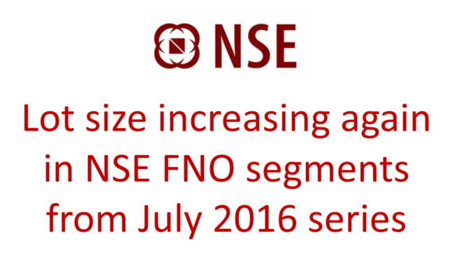 nse increase lot size