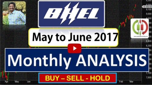 BHEL buy sell hold trend strategy for may and June 2017