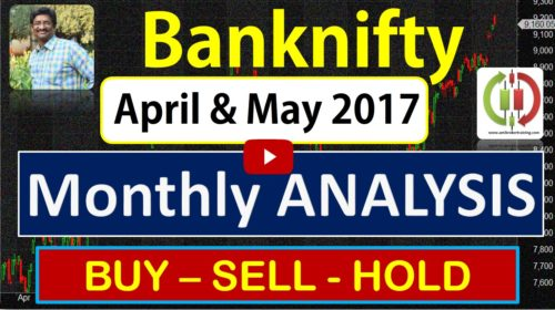 Banknifty buy sell hold trend strategy for April to May 2017