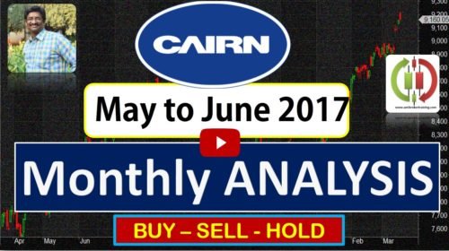 Cairn India buy sell hold trend strategy for May to  June 2017