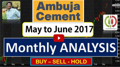 Ambuja Cements buy sell positional trend for May to June 2017