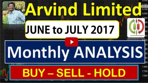 Arvind Limited share Buy sell Positional Trend for June to July 2017