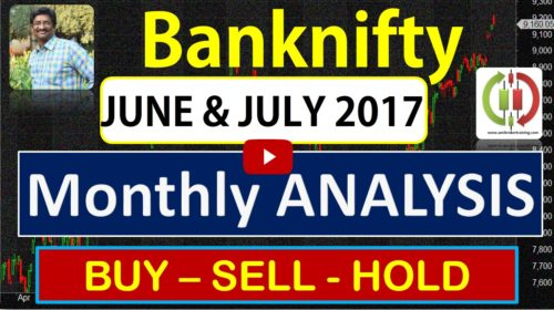 Banknifty buy sell hold trend strategy for June to July 2017