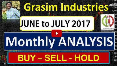 Grasim Industries limited share Buy sell Positional Trend for June to July 2017